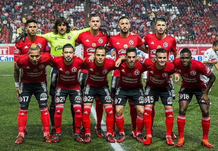 En la actual temporada, Xolos permanece en el liderato tras 14 partidos disputados. El club de Tijuana ya calificó a la Liguilla.(Foto tomada de Facebook/Xolos)