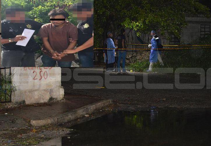 El homicidio ocurrió en la colonia El Roble Agrícola, la semana pasada. (Milenio Novedades)