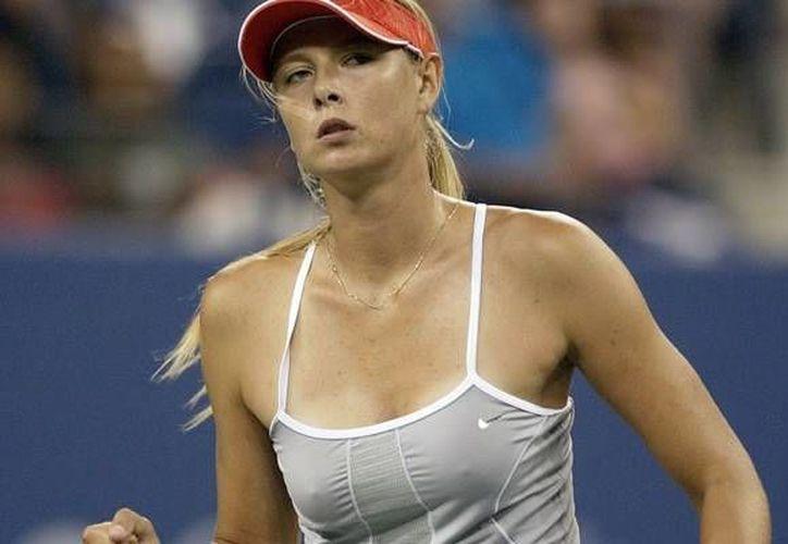 Sharapova era la tercera cabeza de serie del US Open. (Agencias)