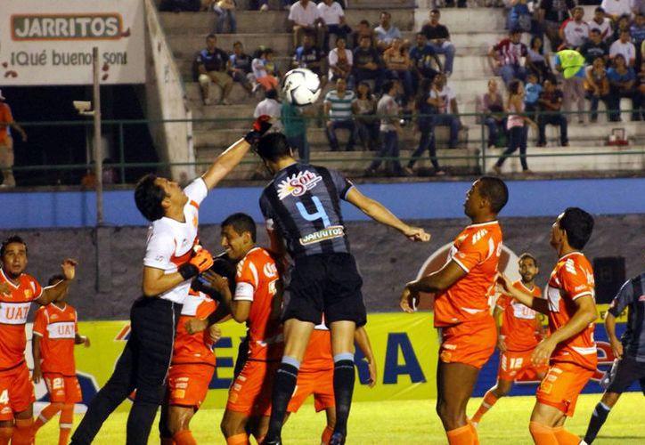 Los Venados tomaron el control del partido en los últimos minutos del encuentro. (Juan Carlos Albornoz/Milenio Novedades)