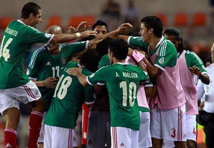 La selección mexicana llegó a la fiesta del futbol tras ganar dos partidos, perder tres y empatar cinco. (Agencias)