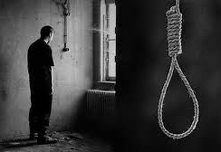 El método más común del suicidio en Yucatán es el ahorcamiento. (Foto: contexto /SIPSE)