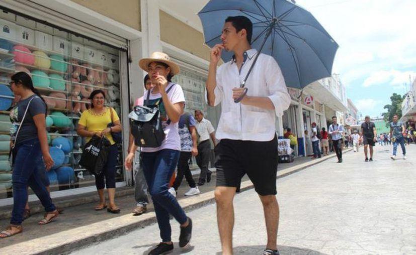 De caer lluvias en la Península de Yucatán, serían moderadas, es decir, de 5 a 25 mm por día. (Novedades Yucatán)