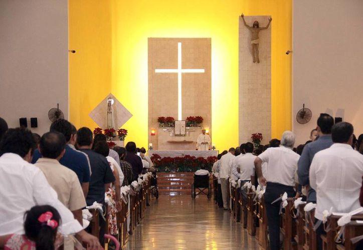 Exhorta la Iglesia a vivir la Cuaresma con mayor intensidad. (Milenio Novedades)