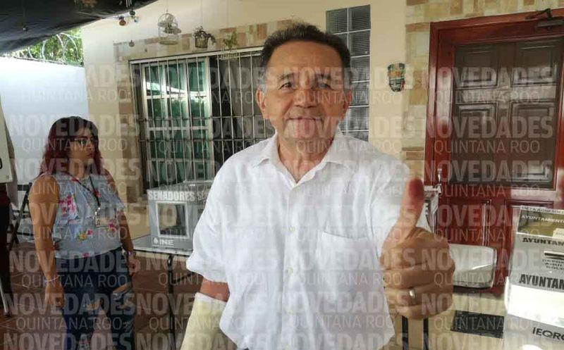 El doctor José Luis Pech es candidato a senador por Quintana Roo. (Miguel Maldonado/SIPSE)