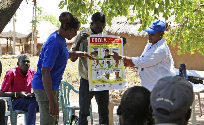 Un brote de ébola en el este del Congo ha matado a más de mil 700 personas en casi un año.  (AP/ Sam Medrick)