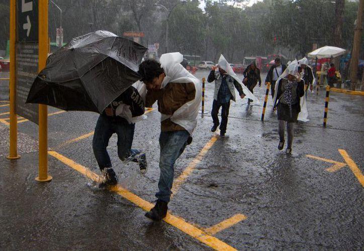 El SMN indicó que se esperan lluvias muy fuertes en el estado de Guerrero por la influencia de 'Hernán'. (Archivo/Notimex)