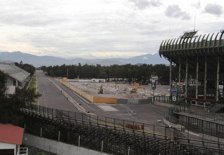 Desde el año pasado, el Autódromo Hermanos Rodríguez se encuentra en 'remodelación' para el regreso de la máxima competencia automovilística. (Foto: Archivo/Notimex)