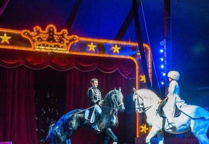 Unas dos mil personas invitadas por El Vaticano acudieron a la carpa del Rony Roller Circus, en vía de Torrevecchia de Roma, el jueves 14 de enero de 21016. (Foto:Reuters en www.lastampa.it)