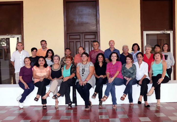 En imagen, el grupo de artistas que participará en el evento. (Jorge Acosta/Milenio Novedades)