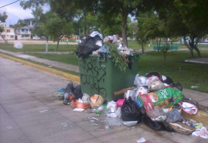A partir de hoy se verán los resultados de la recolección de basura en la cuidad. (Tomás Álvarez/SIPSE)