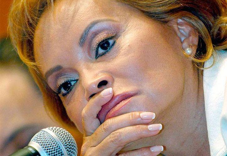 Imagen de archivo de la exlideresa del SNTE, Elba Esther Gordillo Morales, quien está acusada de lavado de dinero y defraudación fiscal. (excelsior.com.mx)
