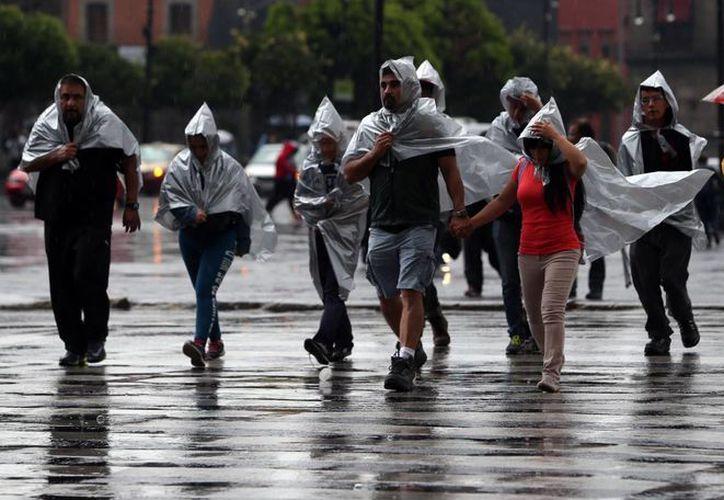 La lluvia se presentará en gran parte de México debido a un canal de baja presión y al frente frío 47. (Foto de archivo: Notimex)
