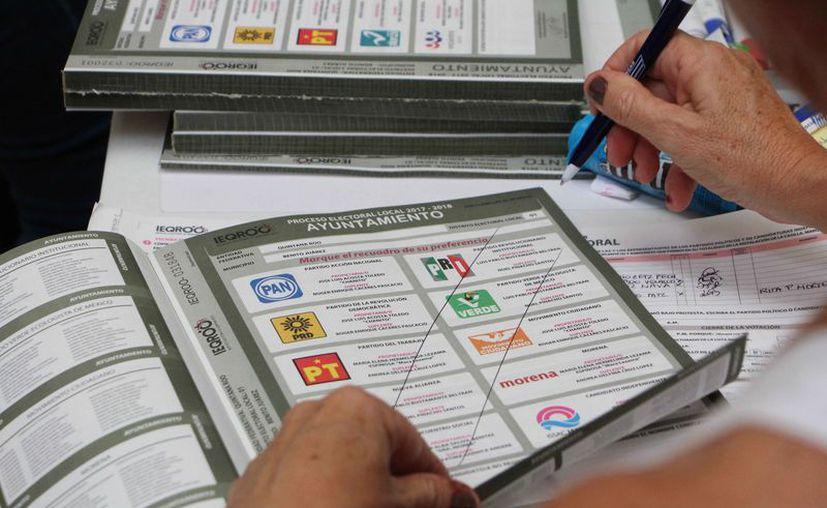 Se asignaron millones de pesos en las pasadas elecciones. (Paola Chiomante/SIPSE)