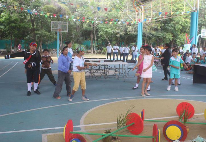 Los menores disfrutaron de diversas actividades durante el curso. (Sara Cauich/SIPSE)
