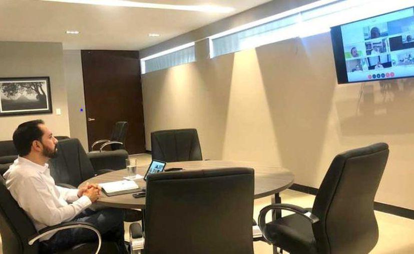 El Gobernador anunció que ya ha empezado a trabajar en el desarrollo de un Plan Estatal para la apertura de la economía estatal. (Novedades Yucatán)