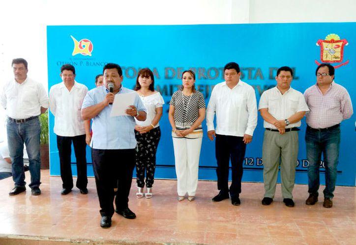 Una de las prioridades del Comité Ejecutivo del sindicato es negociar con la Oficialía Mayor el incremento salarial de los trabajadores. (Foto: Ángel Castilla / SIPSE)
