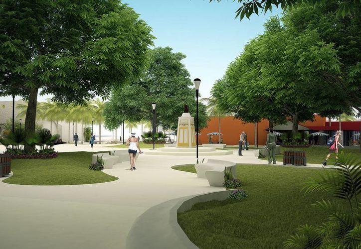 Empresarios locales y personajes representativos de la isla, se manifestaron a favor y en contra de la reconstrucción del parque. (Irving Canul/SIPSE)
