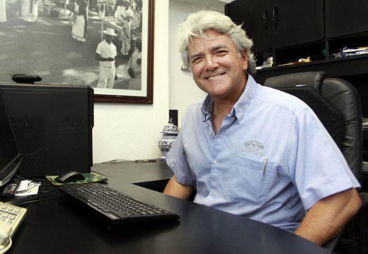 El cónsul honorario de Francia, Mario Ancona Teigell, habló de lo atractivo que es Yucatán para los europeos. (Milenio Novedades)