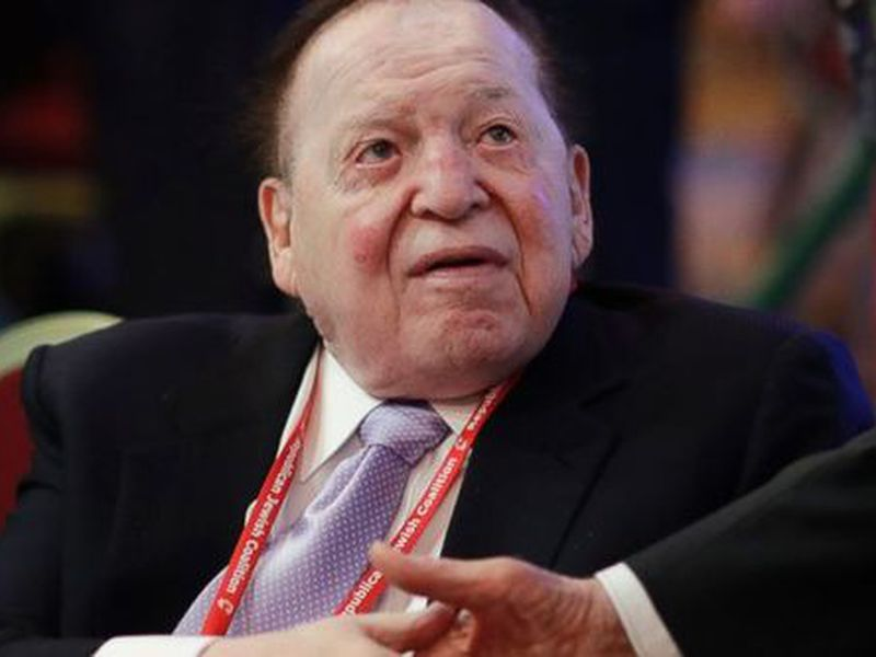 Chairman and Chief Executive Officer, Las Vegas Sands Corporation, Sheldon Adelson, attended the Republican Jewish Coalition annual leadership meeting, in Las Vegas. (AP)