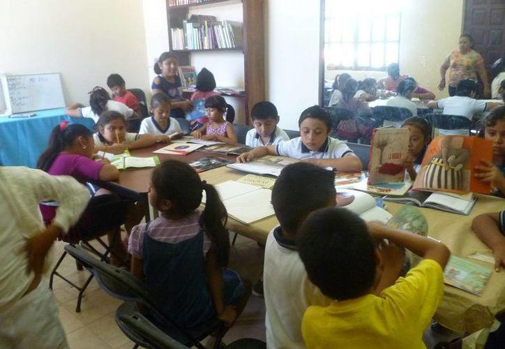 En los talleres pueden participar niños de 6 a 12 años. (Raúl Balam/SIPSE)