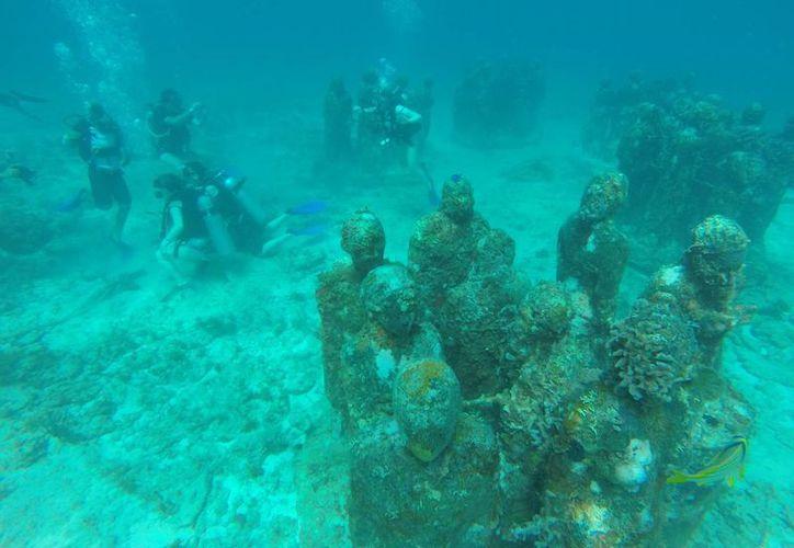 El Museo Subacuático de Cancún ha sido tomado como ejemplo en muchos países, que intentan replicarlo. (Luis Soto/SIPSE)