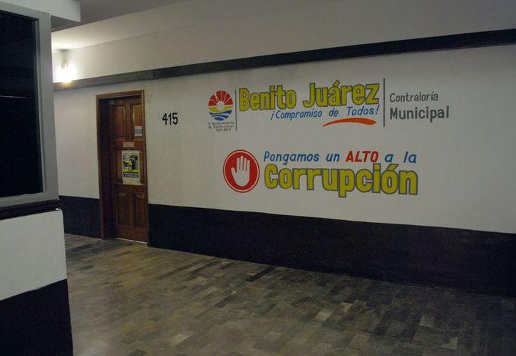 La Contraloría municipal indica que hay otros involucrados en el desvío de recursos públicos. (Tomás Álvarez/SIPSE)
