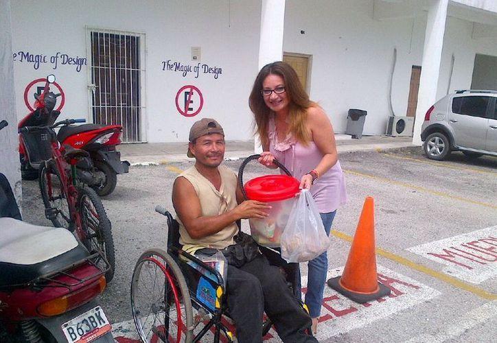La titular de la DAC en Cozumel, informó que en el 2012 se registró un incremento del 8 por ciento con relación al número de personas beneficiadas durante el 2011. (Cortesía/SIPSE)