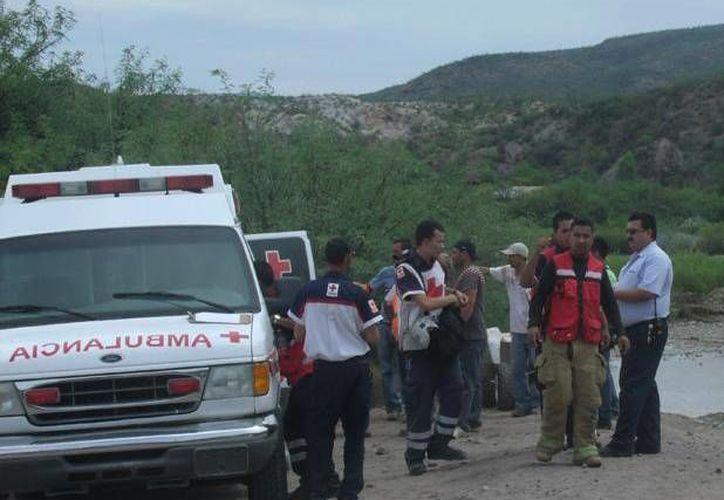 El estado de las personas rescatadas no fue divulgado por las autoridades. (@feduardoalvarez)