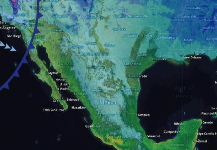 Los vientos oscilarán en los 17 kilómetros por hora en Cancún. (Conagua)