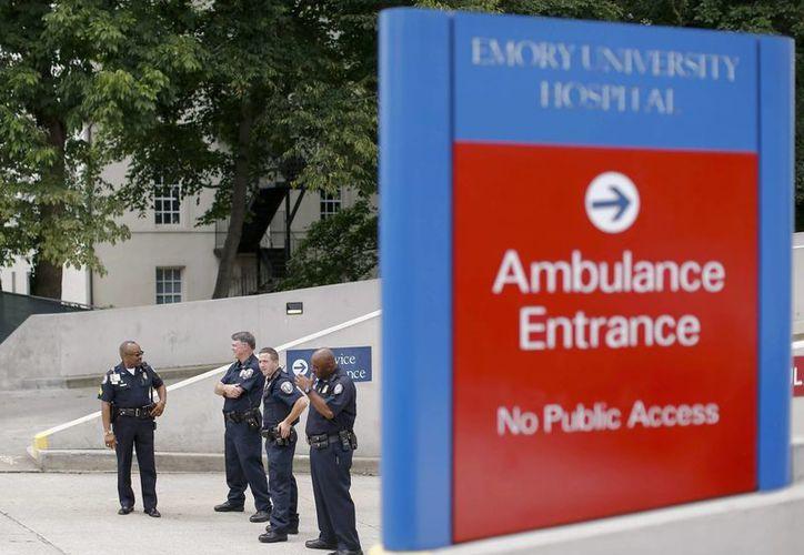 El Hospital de Emory, en Atlanta (Georgia), sería uno de los centros encargados de tratar a los posibles enfermos de ébola. (EFE)