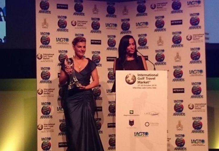 El premio al Mejor Destino de Golf de América Latina y el Caribe fue para Quintana Roo. (Redacción/SIPSE)