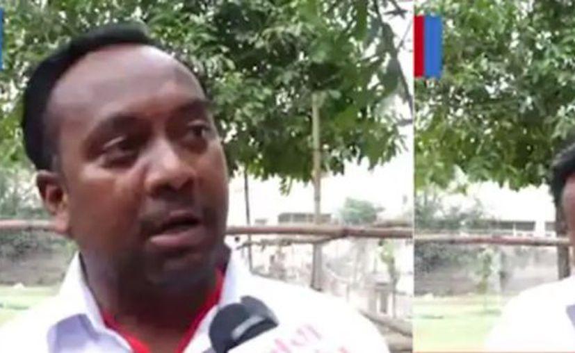 Wala aseveró ante las cámaras de la televisión local que la gente le había jurado que votaron por él. (Internet)