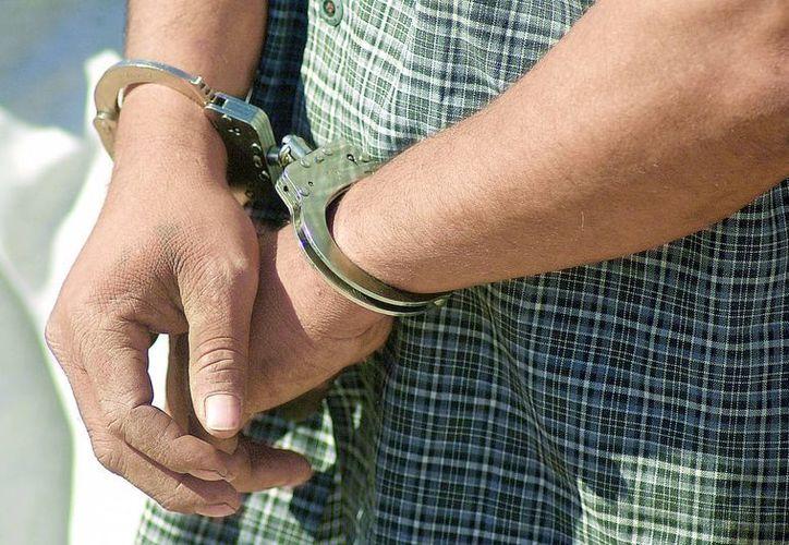 Iván Canul Uicab fue detenido por agentes de la Fiscalía estatal. (unionguanajuato.mx)
