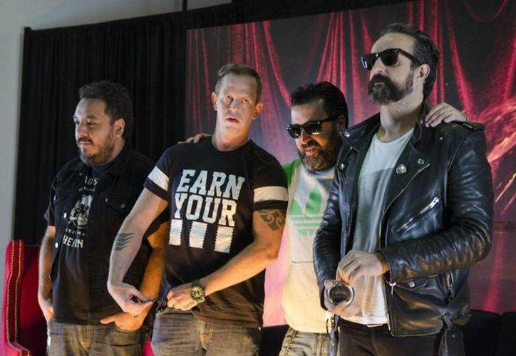La banda mexicana confirmó su próxima producción discográfica, de cara a sus festejos por 20 años de trayectoria en el ámbito del rock mexicano. (AP)