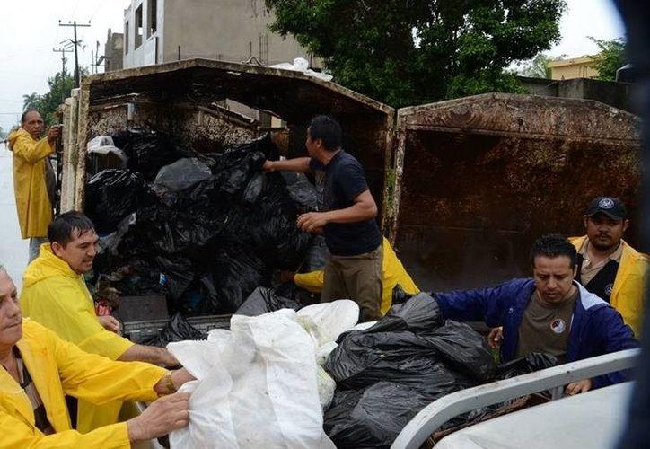 Los ciudadanos de Felipe Carrillo Puerto podrán llevar su basura a la esquina en donde estará estacionado el camión recolector. (Manuel Salazar/SIPSE)