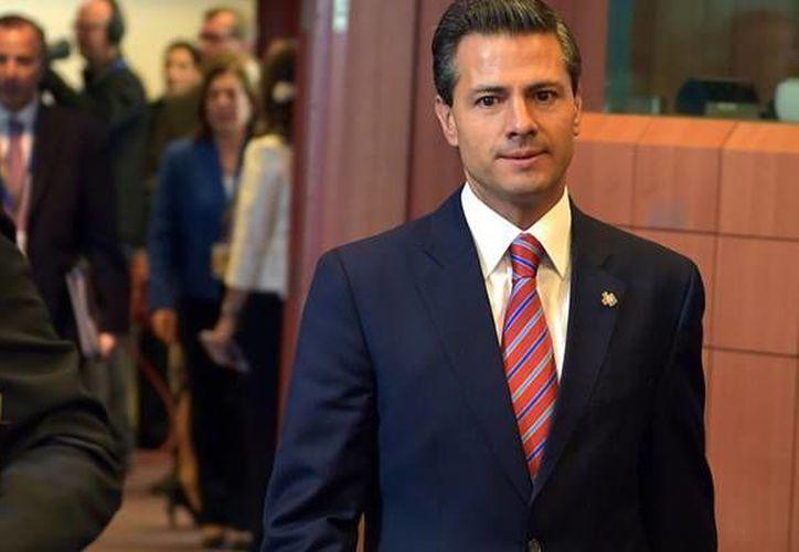 El presidente Enrique Peña Nieto recibirá a los menores seleccionados en Los Pinos. (Contexto/Internet)
