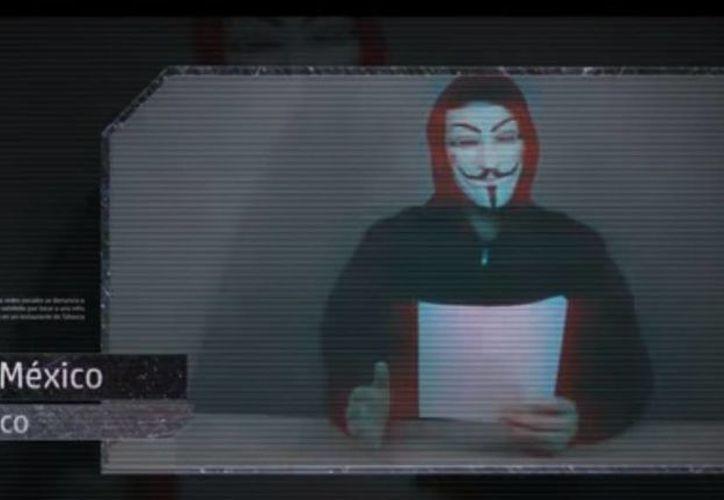 Anonymous dio un plazo de 24 horas para publicar información para ayudar a localizar al presunto abusador y advirtió que dará a conocer todos sus datos para que sea capturado por las autoridades. (Captura de pantalla)