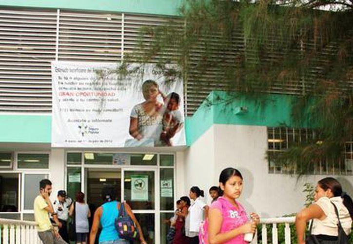 El Centro Materno Infantil seguirá funcionando sólo los casos complicados se enviarán al Hospital Materno Neonatal. (Milenio Novedades)