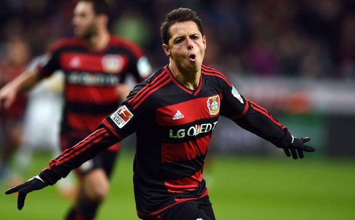 Javier Hernández ha metido 39 goles en 76 duelos con el Bayer Leverkusen. (Foto: Contexto/Internet)