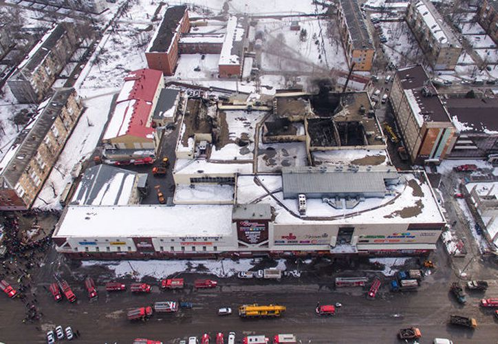 El de Kémerovo fue el segundo siniestro más grave en Rusia en los últimos años. (mundo.sputnik news)