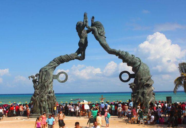 Escenarios de Playa del Carmen serán parte de la película 'La Cruel Invención del Tiempo'. (Daniel Pecheco/SIPSE)