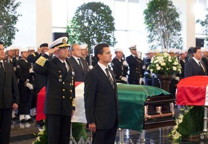 Peña Nieto expresó su solidaridad y respaldo a las Fuerzas Armadas. (Facebook/Presidencia)