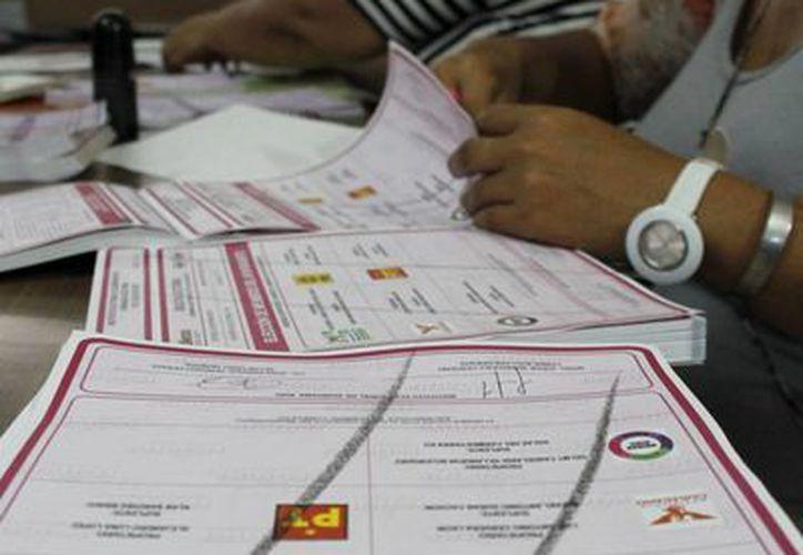 El material del INE no es borrable una vez emitido el voto. (Tomás Álvarez/SIPSE)