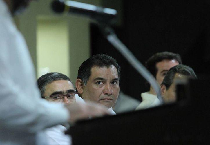 En el foro sobre derechos humanos en Mérida participan policías y otros servidores públicos de la administración estatal de Yucatán. (Cortesía)