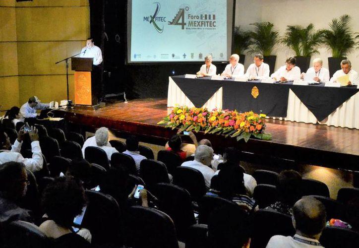 Francia y México consolidan su intercambio académico con el Foro Mexfitec, que se realiza en Mérida. (Milenio Novedades)