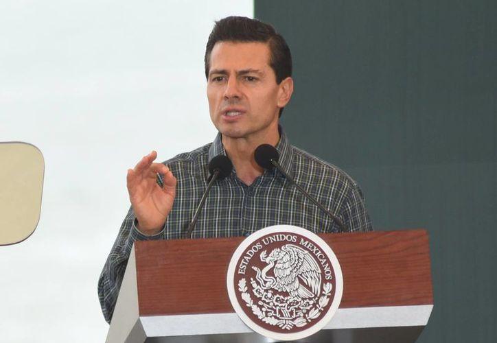 Enrique Peña Nieto hizo un llamado a los mexicanos para identificar las normas mexicanas que discriminan. (gob.mx)