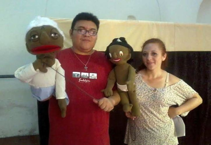 Dos compañías teatrales se encargarán de transmitir los relatos de la cultura maya a los niños de la población de Dzan. (Milenio Novedades)
