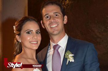 Emotivo enlace para Andrea Moreno Sanén y José Ignacio Rodríguez
