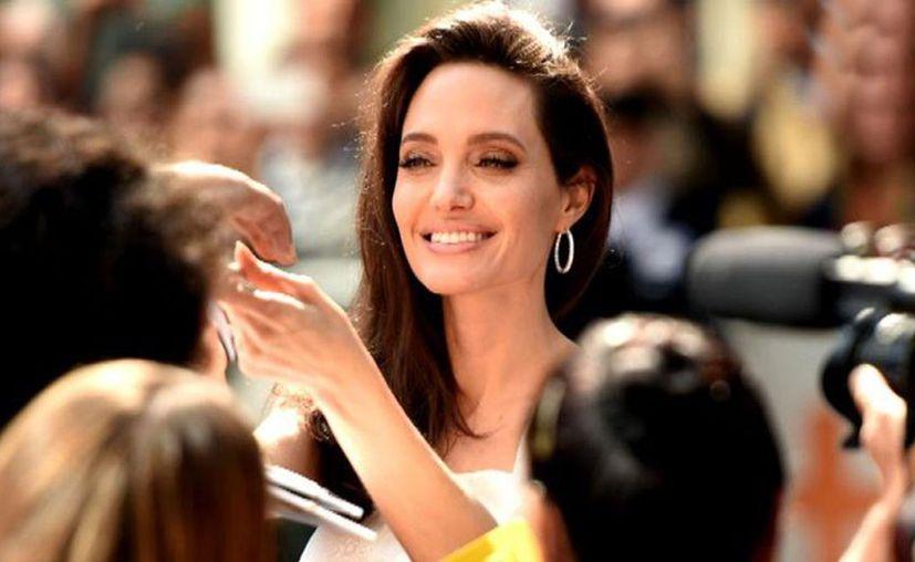 Angelina confesó que estaba enamorada de una modelo asiática. (Internet)